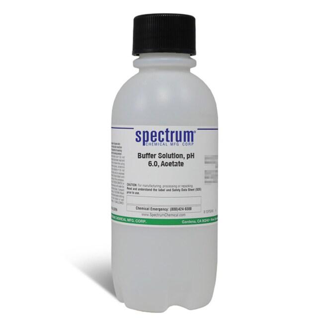 Buffer Solution, pH 6.0, Acetate, For Aluminum, APHA, Spectrum Quantity: