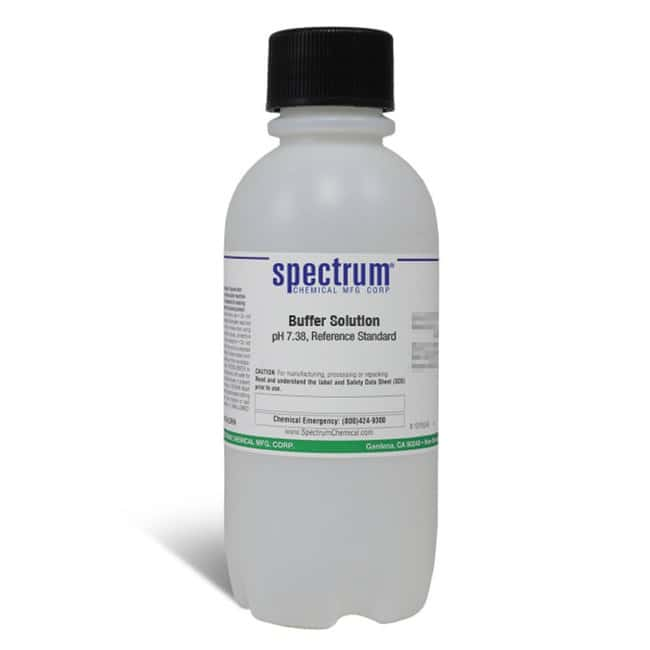 Buffer Solution, pH 7.38, Reference Standard, Spectrum Quantity: 500 mL;