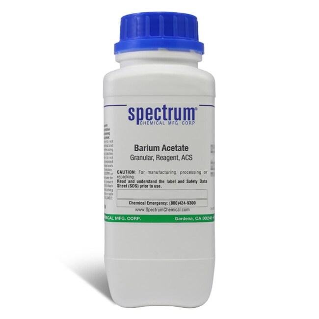 Barium Acetate, Granular, ACS, 99.0-102.0%, Spectrum