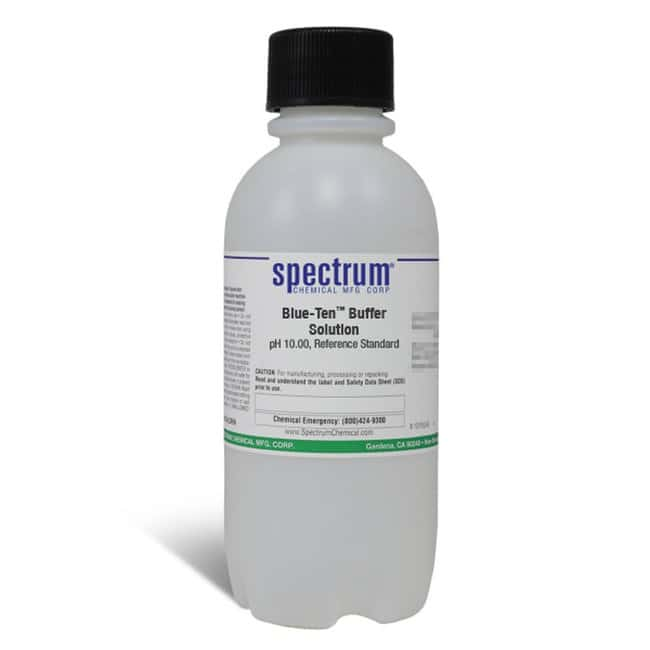 Blue-Ten (TM) Buffer Solution, pH 10.00, (0.01 at 25C)Color-coded BLUE,