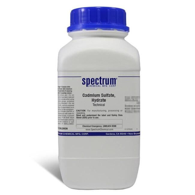 Cadmium Sulfate, Hydrate, Technical, Spectrum