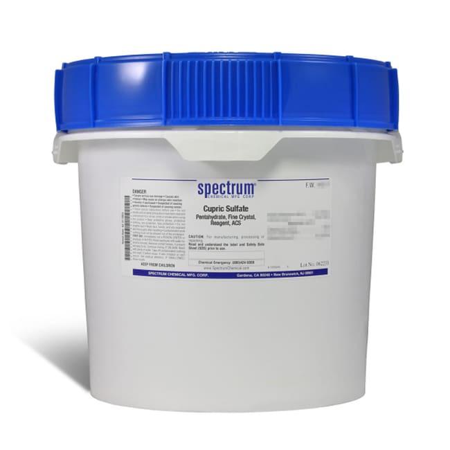 Cupric Sulfate, Pentahydrate, Fine Crystal, ACS, 98-102%, Spectrum