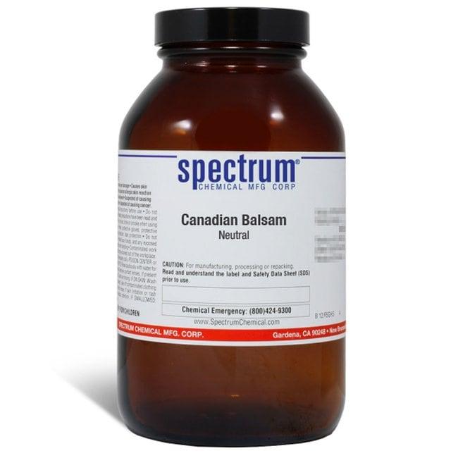 Canadian Balsam, Neutral, Spectrum