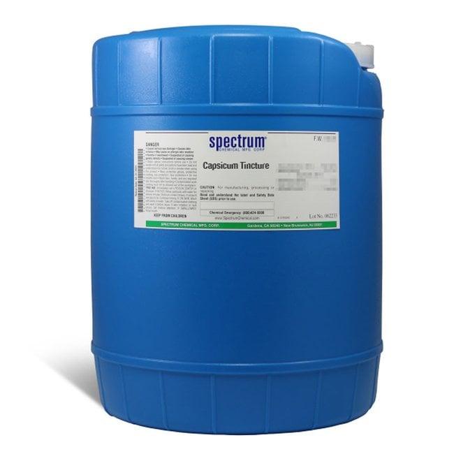 Capsicum Tincture, Spectrum Quantity: 18 L; Packaging: Poly Pail:Teaching