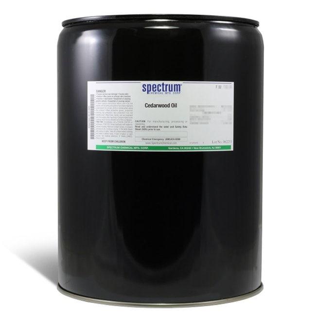 Cedarwood Oil, Spectrum