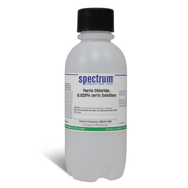 Ferric Chloride, 0.025% (w/v) Solution, For BOD, APHA, Spectrum