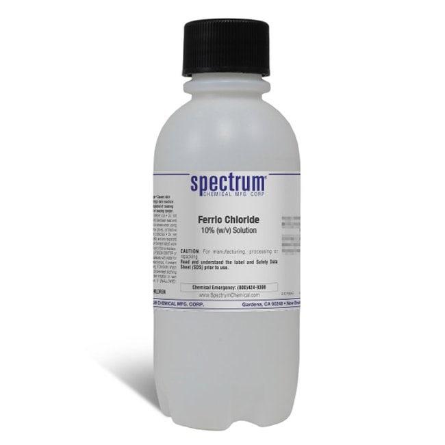 Ferric Chloride, 10% (w/v) Solution, 10%  0.5%, Spectrum Quantity: 500