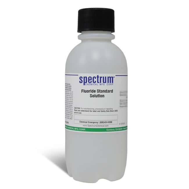 Fluoride Standard Solution, APHA, Spectrum Quantity: 500 mL; Packaging: