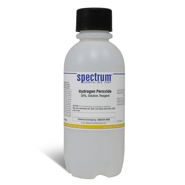 Hydrogen Peroxide, 30%, Solution, Reagent, 29.0-32.0%, Spectrum:Teaching