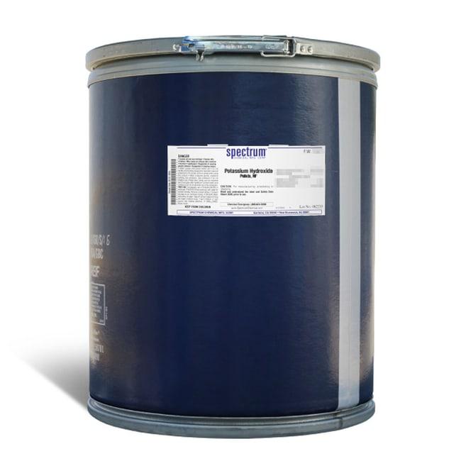 Potassium Hydroxide, Pellets, NF, Spectrum