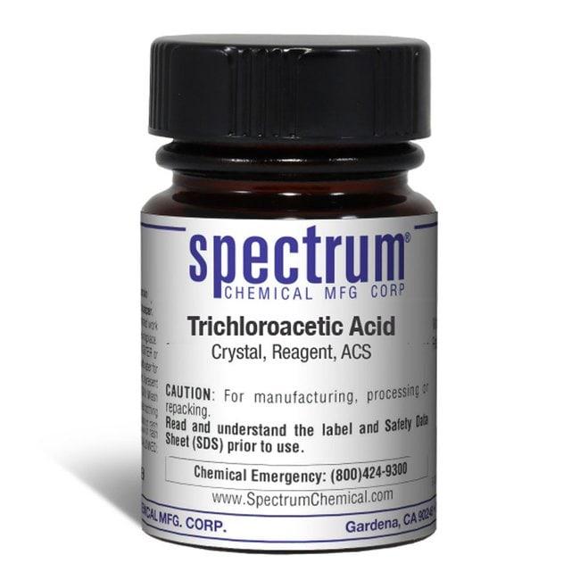 Trichloroacetic Acid, Crystal, Reagent, ACS, 99%, Spectrum