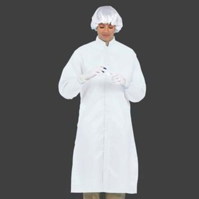 Superior UniformWorklon Reusable Polyester Cleanroom Frocks Size: Medium;