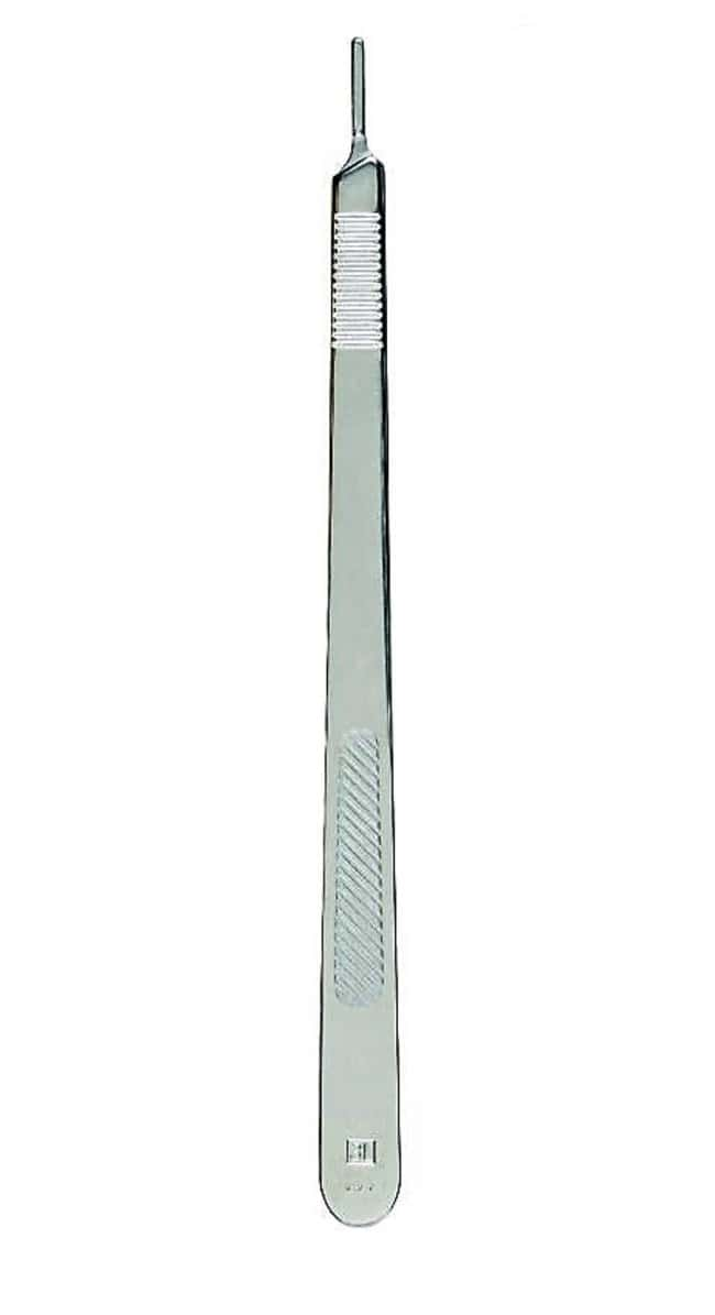 Surgical DesignSurgical Knife Scalpel Handle, Extra Long:Facility Safety