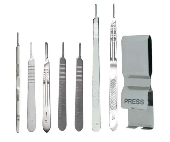 Surgical DesignSurgical Knife Set; Set of 8 Scalpel Handles