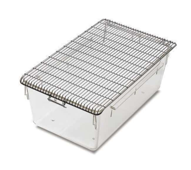 Tecniplast Stainless Steel Wire Cage Lids and Feeders:Animal Research:Animal
