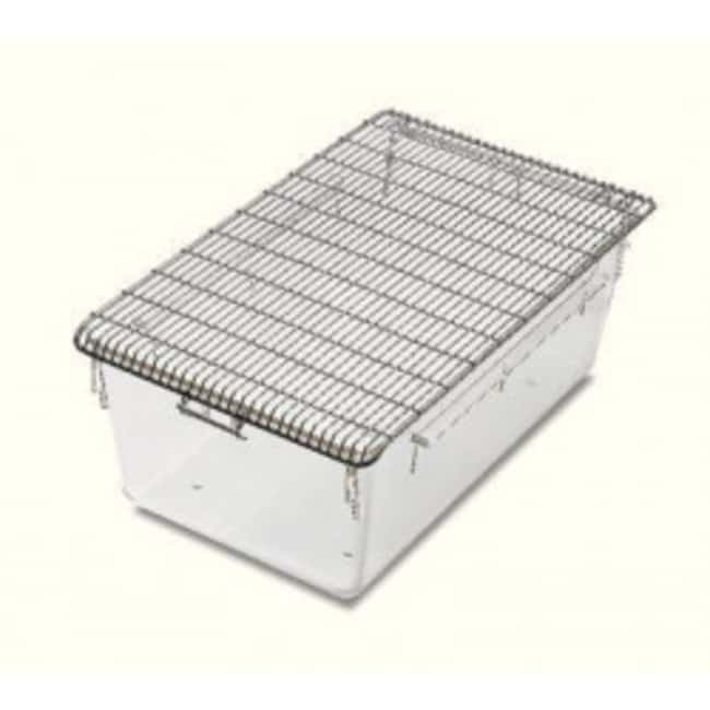 Tecniplast Stainless Steel Wire Cage Lids and Feeders Wire Cover with feeder