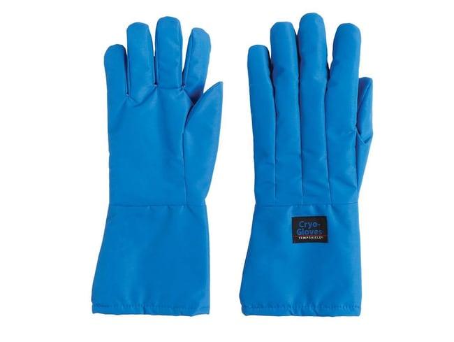 Tempshield™Cryo-Gloves™ Blue Mid-Arm Length Cryogenic Gloves
