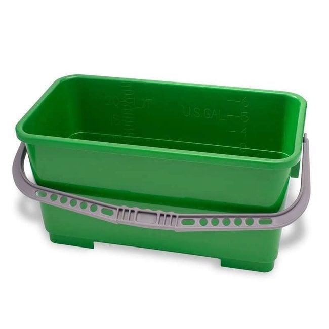 Texwipe Cleanroom Polypropylene Buckets Rectangular Bucket; 22L (6 gal.);