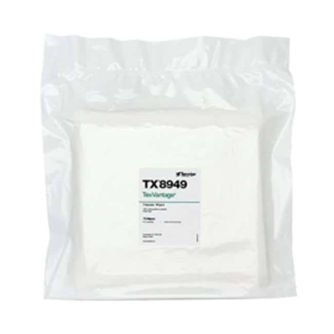 Texwipe TexVantage Polyester Cleanroom Wipers:Gloves, Glasses and Safety:Wipes