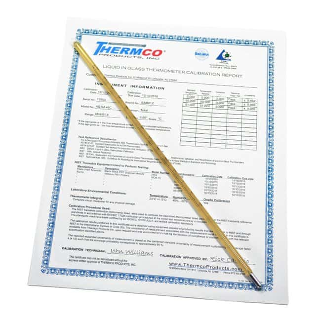 Thermco Ertco ASTM 63F, CERTIFIED Ertco™   ASTM 63F, CERTIFIED:Healthcare
