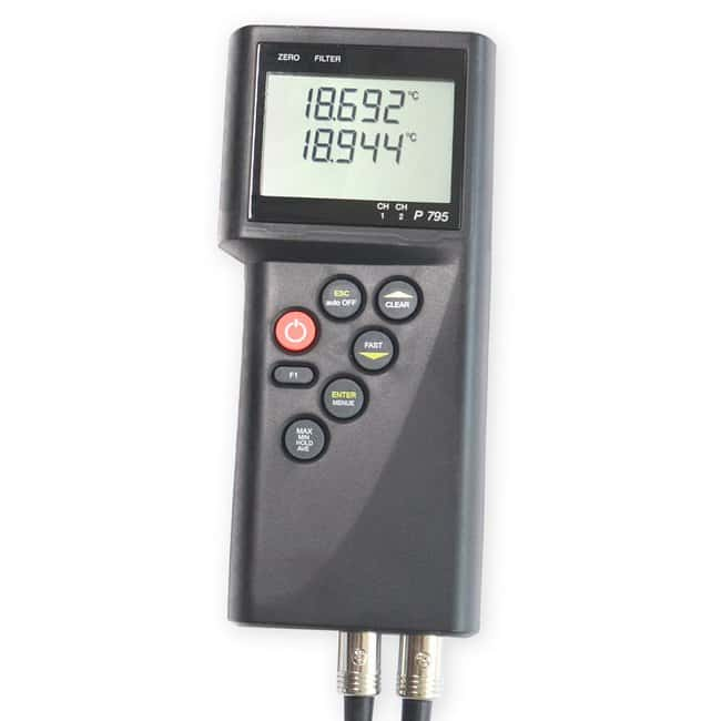 Thermco Pt100 Digital Dual Probe Reference Thermometer Pt100 Digital Dual