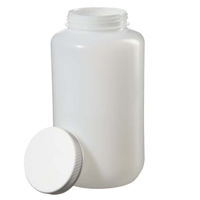 Thermo Scientific™Nalgene™ Large Wide-Mouth HDPE Bottles with Closure