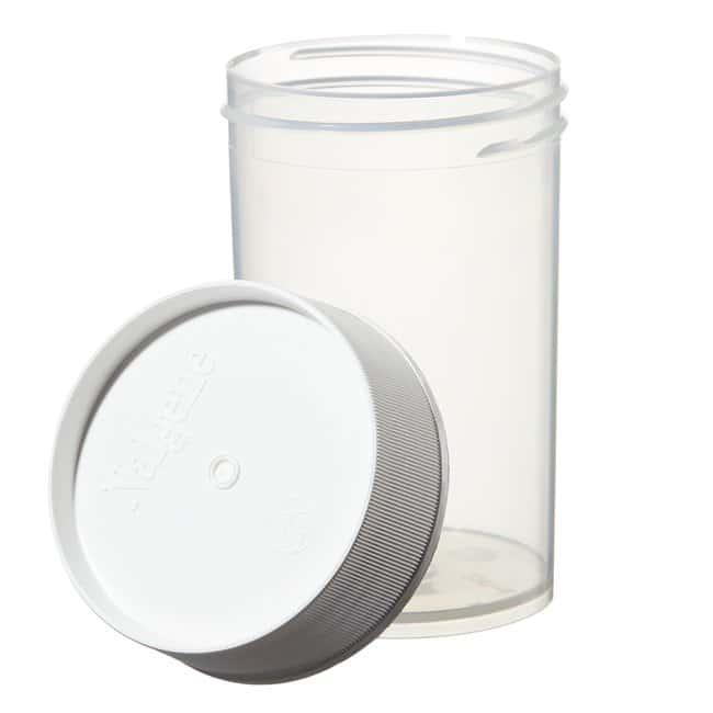Thermo Scientific™ Nalgene™ Wide-Mouth Straight-Sided PPCO Jars with Closure