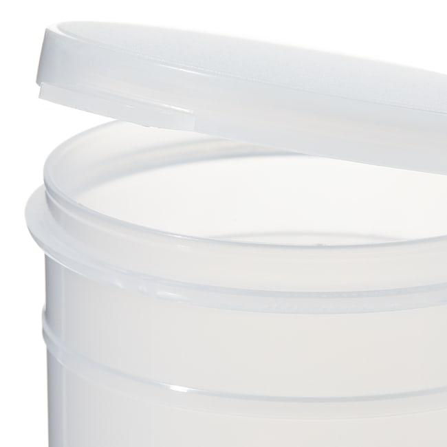 Thermo Scientific™Flacons Capitol Vial à couvercle à charnière, en polypropylène 2,5oz (74ml); naturel Thermo Scientific™Flacons Capitol Vial à couvercle à charnière, en polypropylène