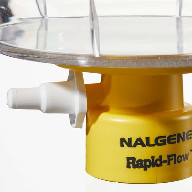 Thermo Scientific™ Nalgene™ Rapid-Flow™ Sterile Disposable Filter Units with SFCA Membrane: Bottle Tops and Filter Units Filtration