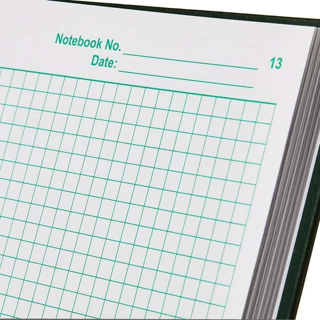 Thermo Scientific Nalgene Lab Notebooks with Regular Paper Pages :Gloves,