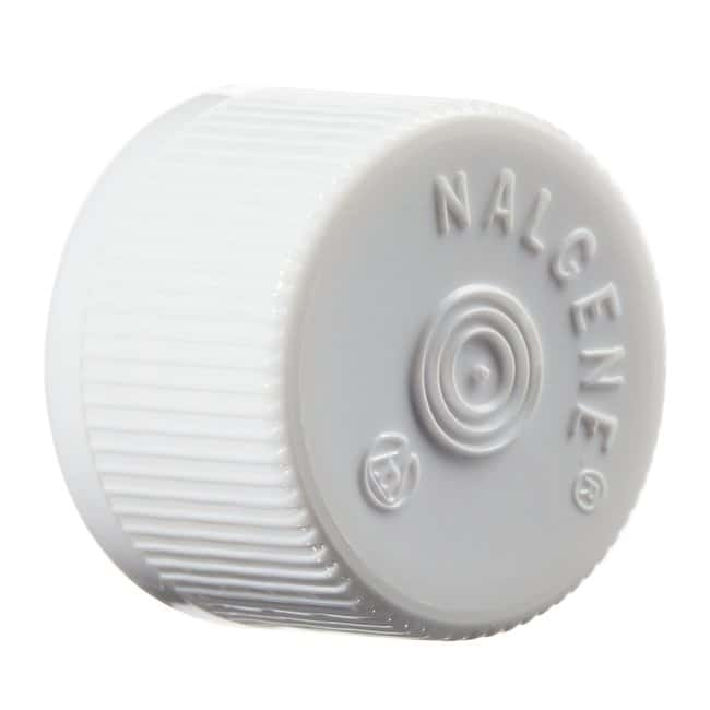 Thermo Scientific Nalgene Lined HDPE Serum Vial Closure for Continuous-Thread