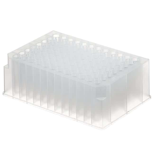 Fisherbrand™96-Well DeepWell™ Polypropylene Microplates Non-Sterile; Well-capacity: 2mL; 60/Case Fisherbrand™96-Well DeepWell™ Polypropylene Microplates