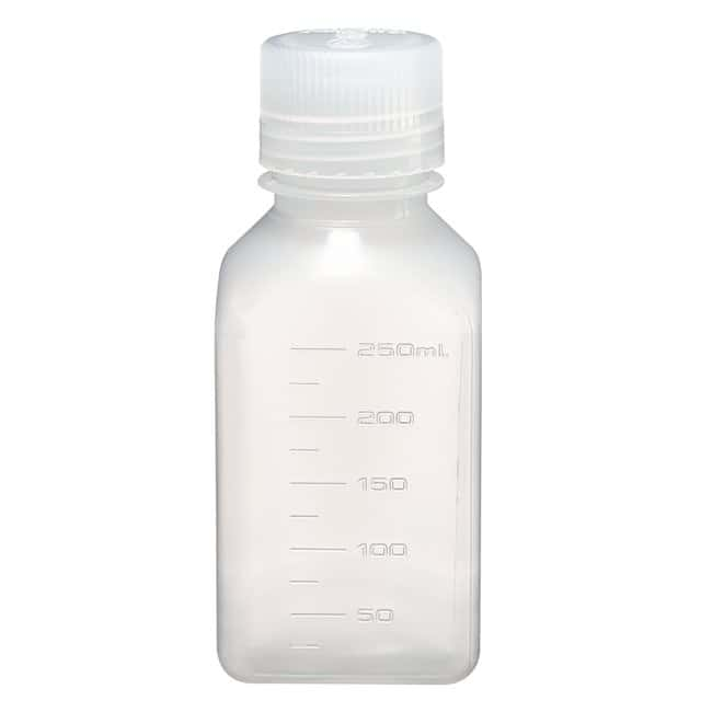 Thermo Scientific™Nalgene™ Square Narrow-Mouth PPCO Bottles with Closure: Bottles Bottles, Jars and Jugs