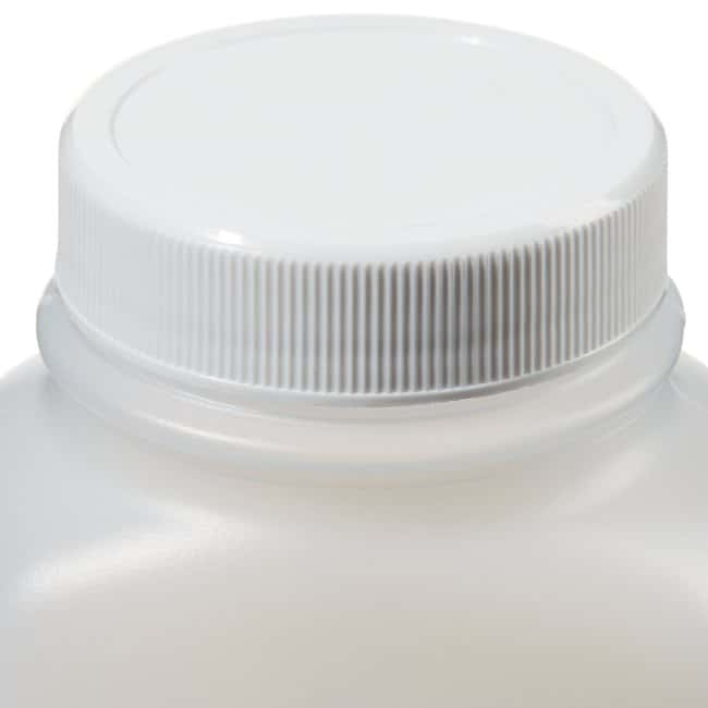 Thermo Scientific Wide-Mouth HDPE Oblong with Lined Closure 250mL HDPE