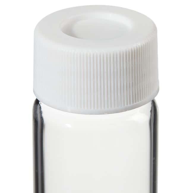 Thermo Scientific Clear VOA Glass Vials with 0.060in. Septa 40mL Vial clear