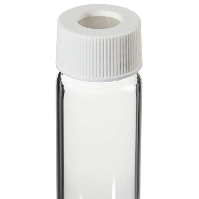 Thermo Scientific I-Chem Clear VOA Glass Vials with 0.125in. Septa 60mL