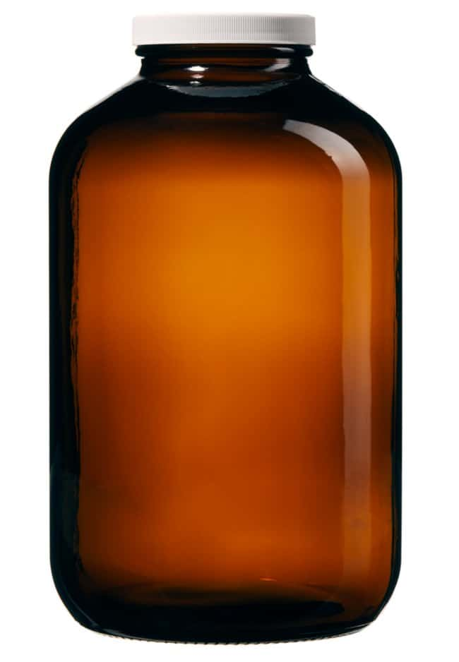 Thermo Scientific™I-Chem™ Wide-Mouth Amber Glass Packer with Closure