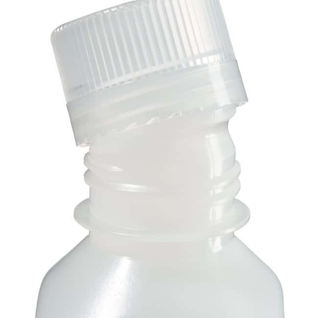 Thermo Scientific™ Nalgene™ Square Narrow-Mouth HDPE Bottles with Closure Capacity: 8 oz. (250mL) Thermo Scientific™ Nalgene™ Square Narrow-Mouth HDPE Bottles with Closure