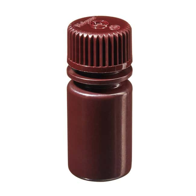 Thermo Scientific™Nalgene™ Opaque Amber HDPE Diagnostic Bottles with Closure: Bulk Pack 15mL, 20-415 closure, bulk pack Thermo Scientific™Nalgene™ Opaque Amber HDPE Diagnostic Bottles with Closure: Bulk Pack