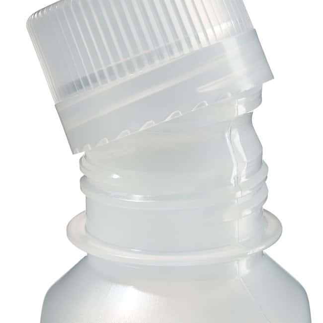Thermo Scientific™Nalgene™ Square Narrow-Mouth PPCO Bottles with Closure Capacity: 4 oz. (125mL) Thermo Scientific™Nalgene™ Square Narrow-Mouth PPCO Bottles with Closure