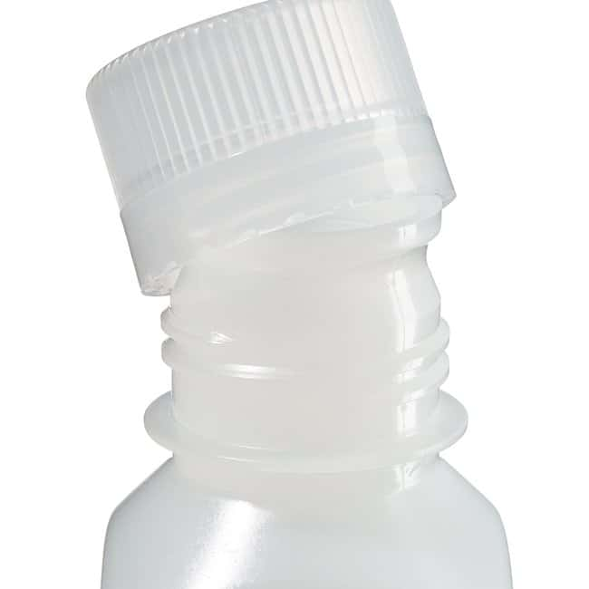 Thermo Scientific™ Nalgene™ Square Narrow-Mouth HDPE Bottles with Closure Capacity: 4 oz. (125mL) Thermo Scientific™ Nalgene™ Square Narrow-Mouth HDPE Bottles with Closure