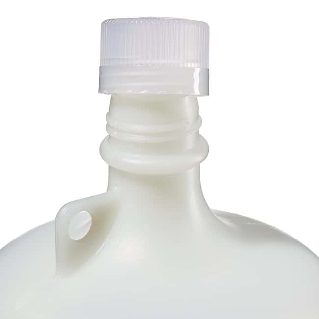 Thermo Scientific™ Nalgene™ Fluorinated Narrow-Mouth HDPE Bottles with Closure