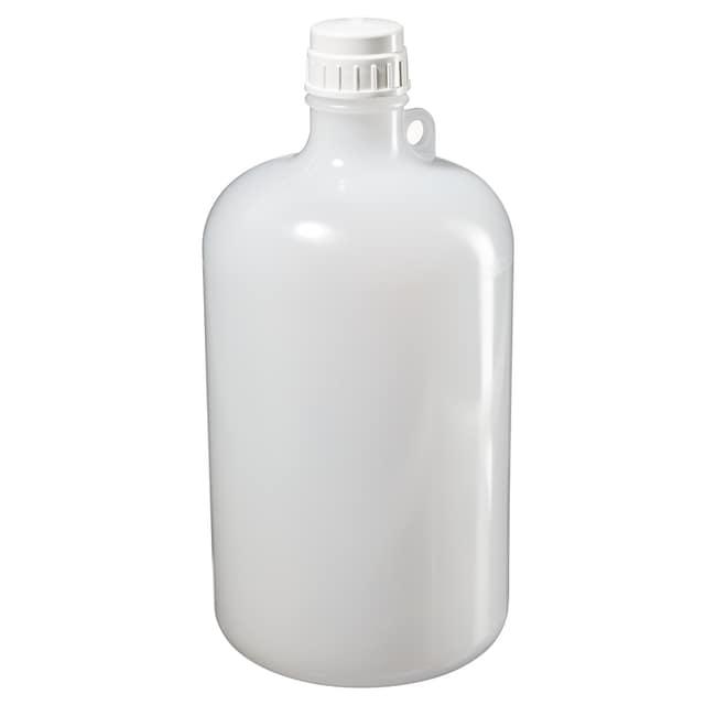 Thermo Scientific™Nalgene™ Large Narrow-Mouth LDPE Bottles Capacity: 2 gal. (8L) Thermo Scientific™Nalgene™ Large Narrow-Mouth LDPE Bottles