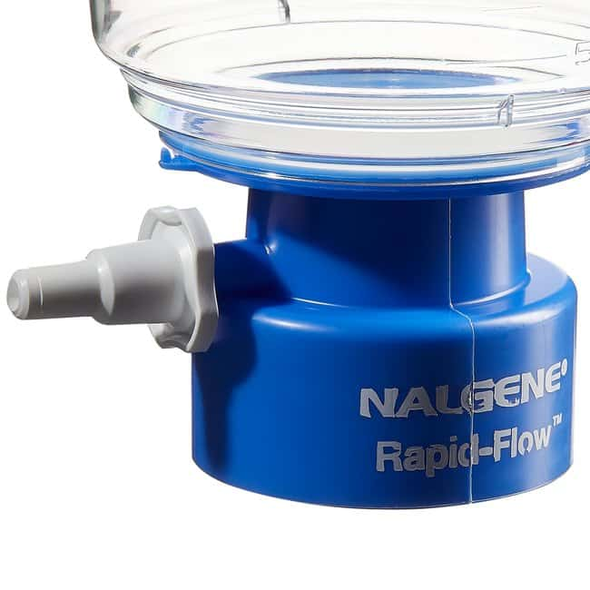Thermo Scientific™ Nalgene™ Rapid-Flow™ Sterile Single Use Vacuum Filter Units 250mL; Pore Size: 0.20μm; Membrane: 50mm Thermo Scientific™ Nalgene™ Rapid-Flow™ Sterile Single Use Vacuum Filter Units