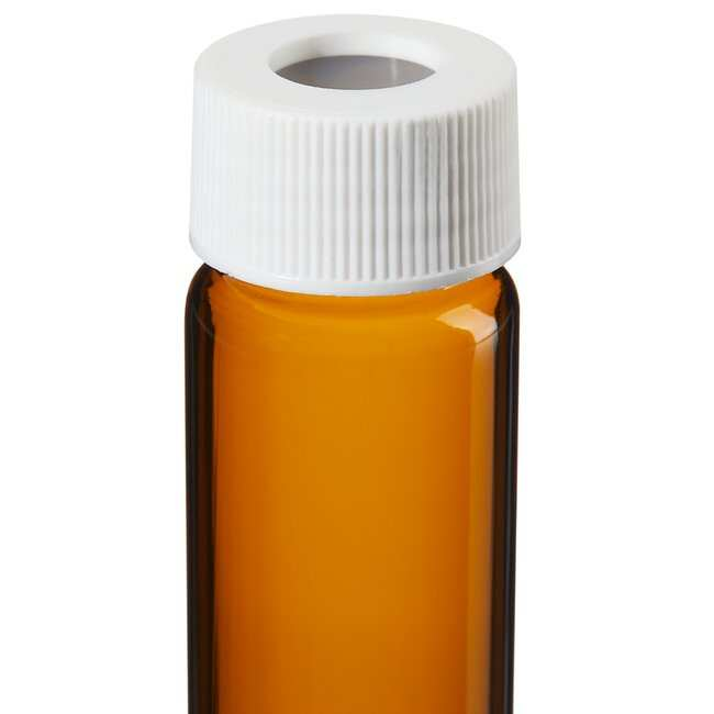 Thermo Scientific I-Chem Amber VOA Glass Vials with 0.125in. Septa 40mL