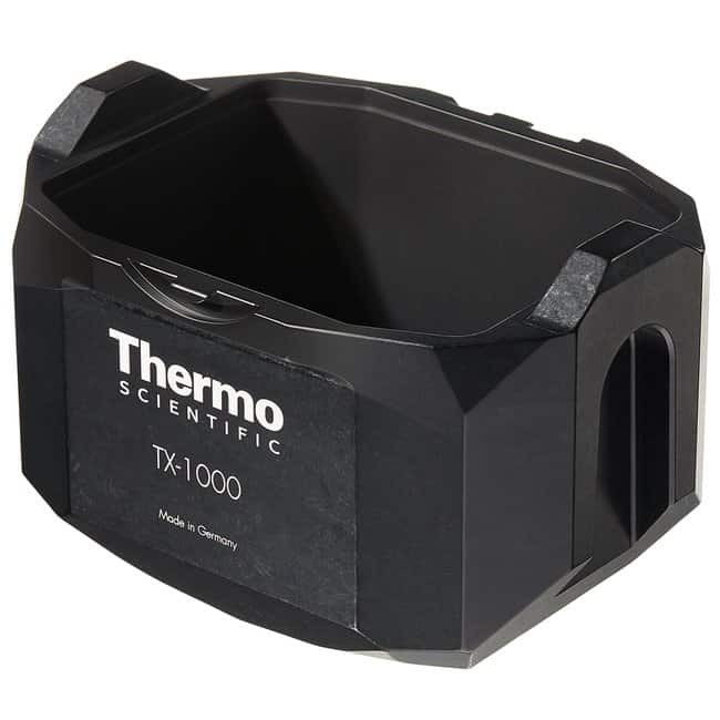 Thermo Scientific™ TX-1000 4 x 1000mL Swinging Bucket Rotor TX-1000 Buckets for use with TX-1000 Rotor (set of 4) Thermo Scientific™ TX-1000 4 x 1000mL Swinging Bucket Rotor
