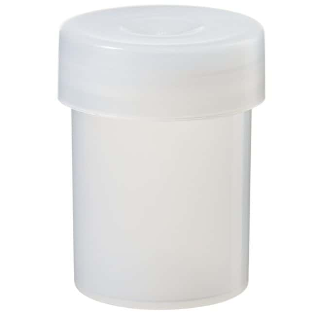 Thermo Scientific™Nalgene™ LDPE Sample Vials with Closure LDPE; Snap Closure; 27mm dia, x 25mmH; Capacity: 12mL Thermo Scientific™Nalgene™ LDPE Sample Vials with Closure
