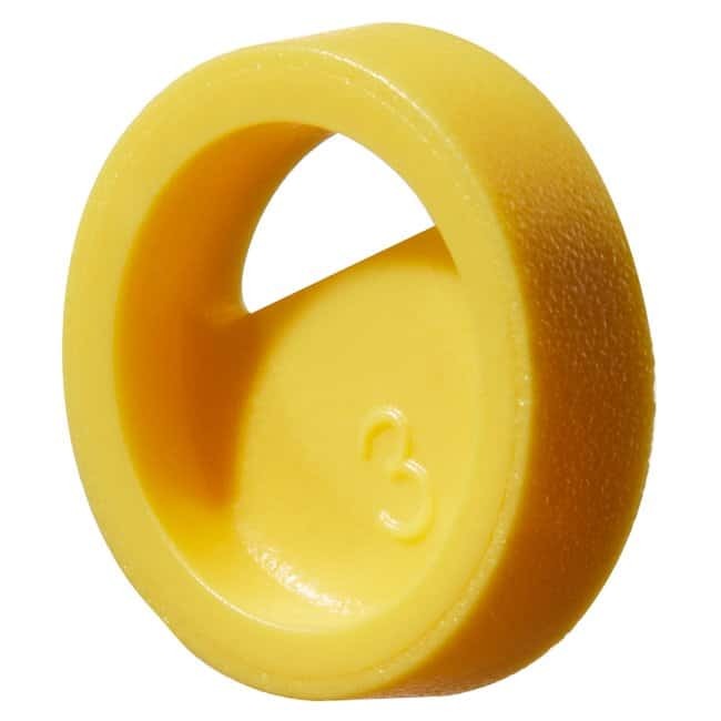 Thermo Scientific™Farbkodierer für Kryofläschchenverschlüsse Nalgene Cryovial color coder, PS, yellow Thermo Scientific™Farbkodierer für Kryofläschchenverschlüsse