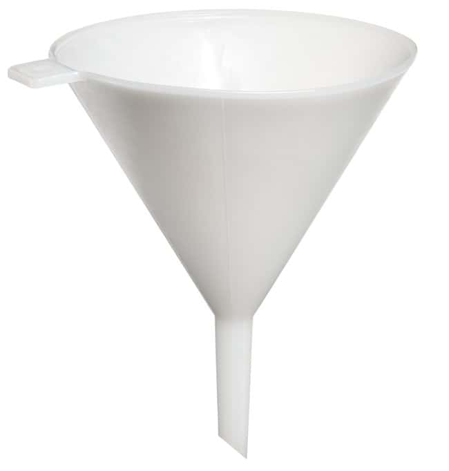 Thermo Scientific Nalgene Heavy-Duty LDPE Funnels  Capacity: 124.57 oz.