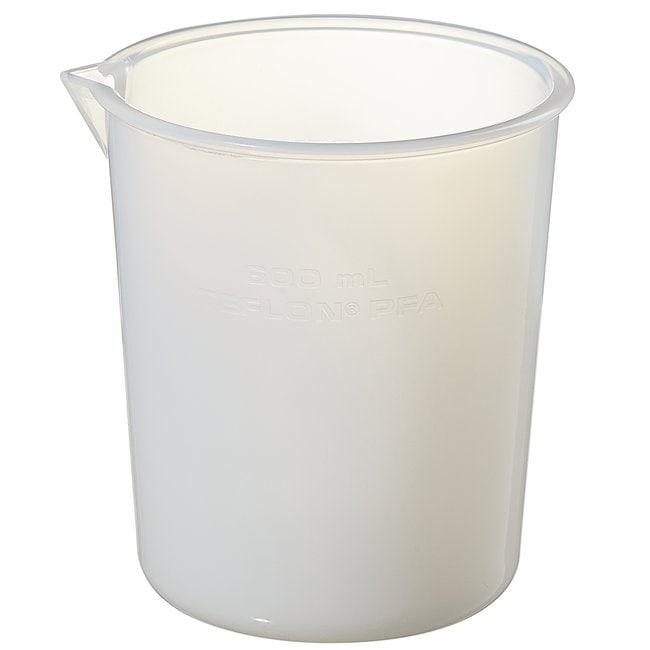 Thermo Scientific™Nalgene™ Griffin Low-Form PFA Plastic Beakers 600mL Thermo Scientific™Nalgene™ Griffin Low-Form PFA Plastic Beakers